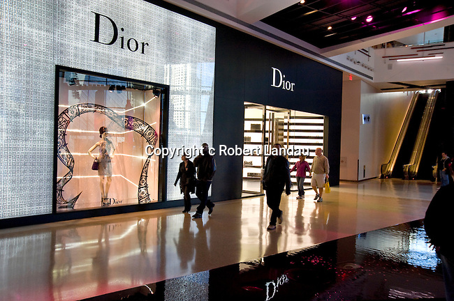 Dior boutique at Crystals retail and entertainment complex at CityCenter in Las Vegas