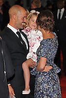 Ed Clery, Florence Clery and Alicia Vikander at the &quot;The Light Between Oceans&quot; UK film premiere, Curzon Mayfair cinema, Curzon Street, London, England, UK, on Wednesday 19 October 2016. <br /> CAP/CAN<br /> &copy;CAN/Capital Pictures /MediaPunch ***NORTH AND SOUTH AMERICAS ONLY***