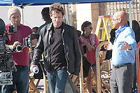 Actor David Duchovny films an episode of Showtime's hit TV show, 'Californication' at Ocean Front Walk in Santa Monica on Monday, July 11, 2011.