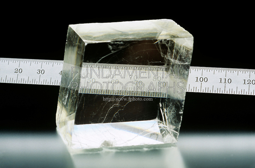 DOUBLE REFRACTION OF CALCITE<br />