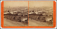 BNPS.co.uk (01202 558833)<br /> Pic: Bonhams/BNPS<br /> <br /> View from the Grounds of Gov. Stanford.<br /> <br /> A stunning collection of photos of San Francisco in the 1860s have been unearthed after 150 years.<br /> <br /> The fascinating images show the distinctive street scenes of the city 70 years before the iconic Golden Gate Bridge became its most celebrated landmark and 50 years before the infamous Alcatraz prison was built.<br /> <br /> Included in the collection of 247 images are photos of the Golden Gate, Alcatraz, Russian Hill, the Waterfront and Woodward's Gardens.<br /> <br /> The city which is universally known for its treacherously steep hills and spectacular scenery was captured in all its glory by American photographer Carleton E. Watkins.