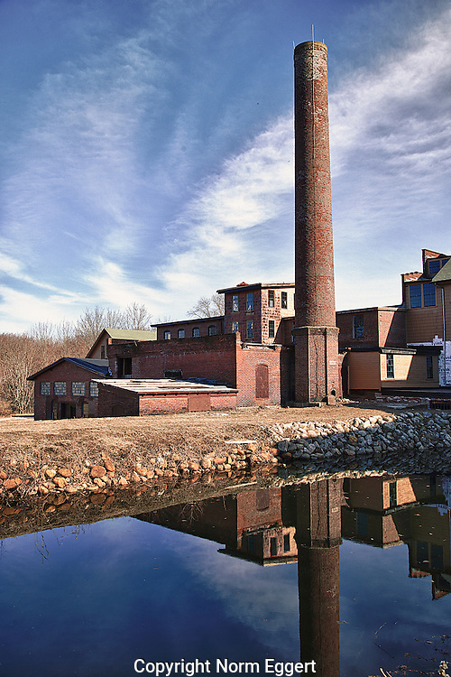 The Stanley Woolen Mill is part of the Blackstone River and Canal Heritage State Park