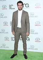 BURBANK, CA, USA - OCTOBER 18: Joshua Bowman arrives at the 2014 Environmental Media Awards held at Warner Bros. Studios on October 18, 2014 in Burbank, California, United States. (Photo by Xavier Collin/Celebrity Monitor)