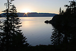 Lake Tahoe at sunrise from DL Bliss SP