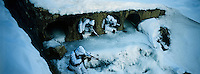 South Korean special forces soldiers crawl through cement tunnels during winter training drills on Jan. 11, 2012 in Pyeongchang-gun, South Korea. The South Korean commandos train in the snow and extreme cold weather conditions to maintain readiness for a possible war with North Korea.