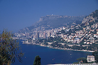 Monte Carlo Monaco Viewed from the east