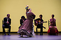 London, UK. 11.03.2014. Gala Flamenca: The Five Seasons, performed by Marco Flores, Olga Pericet, Laura Rozalen and Mercedes Ruiz, as part of the Flamenco Festival London 2014, at Sadler's Wells. Picture shows: Laura Rozalen. Photograph © Jane Hobson.