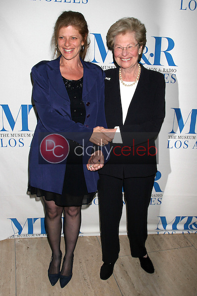 Eliza Roberts and mother Laila<br />
