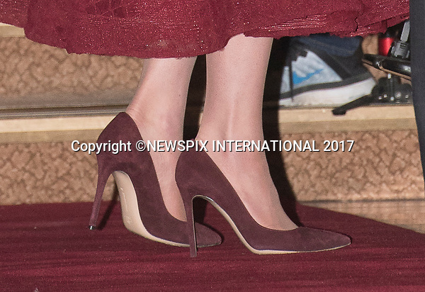 04.04.2017; London, UK: DUCHESS OF CAMBRIDGE (Heels)<br /> attends the Opening Night of the musical&nbsp;42nd Street in aid of East Anglia's Children's Hospice.<br /> Mandatory Photo Credit: &copy;Francis Dias/NEWSPIX INTERNATIONAL<br /> <br /> IMMEDIATE CONFIRMATION OF USAGE REQUIRED:<br /> Newspix International, 31 Chinnery Hill, Bishop's Stortford, ENGLAND CM23 3PS<br /> Tel:+441279 324672  ; Fax: +441279656877<br /> Mobile:  07775681153<br /> e-mail: info@newspixinternational.co.uk<br /> Usage Implies Acceptance of OUr Terms &amp; Conditions<br /> Please refer to usage terms. All Fees Payable To Newspix International