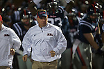 Ole Miss Coach Hugh Freeze vs. Vanderbilt at Vaught-Hemingway Stadium in Oxford, Miss. on Saturday, November 10, 2012.