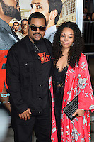 Ice Cube &amp; Kimberly Woodruff at the world premiere for &quot;Fist Fight&quot; at the Regency Village Theatre, Westwood, Los Angeles, USA 13 February  2017<br /> Picture: Paul Smith/Featureflash/SilverHub 0208 004 5359 sales@silverhubmedia.com