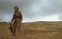 Iraq 1970. Hassan Shatavi near Kala Diza<br /> Irak 1970. Hassan Shatavi, peshmerga, pres de Kala Diza
