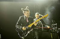 Querétaro Qro. 26 de mayo de 2017.- Exitoso concierto de la banda de rock mexicana Café Tacvba 'Niu Güeis Tour 2017' en donde presentarn su nuevo disco 'Jei Beibi'.