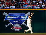 5 September 2009: Cleveland Indians' outfielder Michael Brantley in action against the Minnesota Twins at Progressive Field in Cleveland, Ohio. The Indians fell to the Twins 4-1 in the second game of their three-game weekend series. Mandatory Credit: Ed Wolfstein Photo