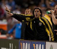 Saturday May 19th, 2012:  San Jose, California - The San Jose Earthquakes and the Columbus Crew tie 1-1 at Buck Shaw Stadium during a regular season game.