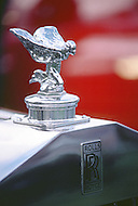 August 26th, 1984. Rolls Royce detail of radiator.