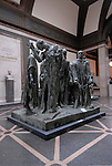 Rodin Museum, Burgers of Calais sculpture..Philadelphia, Pennsylvania, PA USA.  Photo copyright Lee Foster, 510-549-2202, lee@fostertravel.com, www.fostertravel.com.  Photo 222-30594