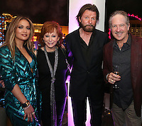 LAS VEGAS, NEVADA - JULY 24, 2016 JLO, Reba Mc Entire & Brooks & Dunn attend the JLO private birthday celebration at The Nobu Villa Suite at Caesars Palace, July 24, 2016 in Las Vegas Nevada. Photo Credit: Walik Goshorn / Mediapunch