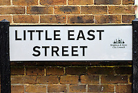 Little East Street, where the Film 'Quadrophenia' was filmed, Brighton, East Sussex, Britain - 2010.
