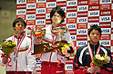 (L to R) Kenya Kobayashi (JPN), Kohei Uchimura (JPN), Shogo Nonomura (JPN),.APRIL 8, 2012 - Artistic gymnastics : The 66nd All Japan Gymnastics Championship Individual All-Around , Men's Individual 2nd day at 1nd Yoyogi Gymnasium, Tokyo, Japan. (Photo by Jun Tsukida/AFLO SPORT) [0003].