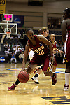23 MAR 2012: Sequoyah Griffin (10) drives to the hoop during the Division II Womens Basketball Championship held at Bill Greehey Arena in San Antonio, TX.  Shaw University defeated Ashland University 88-82 for the national title.  Rodolfo Gonzalez/ NCAA Photos