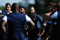 Kane Palma-Newport of Bath Rugby looks on. Bath Rugby pre-season training session on August 9, 2016 at Farleigh House in Bath, England. Photo by: Patrick Khachfe / Onside Images
