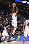 MILWAUKEE, WI - MARCH 18: Butler Bulldogs guard Avery Woodson (0) pulls down a rebound during the first half of the 2017 NCAA Men's Basketball Tournament held at BMO Harris Bradley Center on March 18, 2017 in Milwaukee, Wisconsin. (Photo by Jamie Schwaberow/NCAA Photos via Getty Images)
