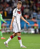 FUSSBALL WM 2014                ACHTELFINALE Deutschland - Algerien               30.06.2014 Thomas Mueller (Deutschland)