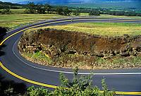 Bike trek downhill from Haleakala National Park