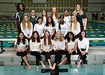 12-22-16, Huron High School synchronized swimming team