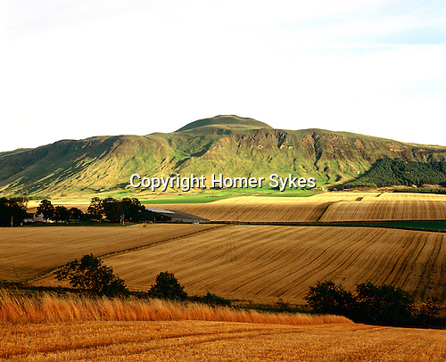 Iron Age Hillfort, Lomond Hill. Nr Kinross, Perth and Kinross, Scotland. Celtic Britain published by Orion. The Lomond Hills form part of a spectacular ridge that includes Maiden Castle and East Lomond Hillfort. West Lomond Hill has on its summit the remains of an enormious prehistoric cairn.