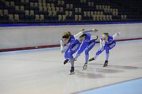 SCHAATSEN: HEERENVEEN: 22-10-2013, IJsstadion Thialf, Training, ©foto Martin de Jong