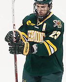 Connor Brickley (UVM - 23) - The Boston College Eagles defeated the University of Vermont Catamounts 4-1 on Friday, February 1, 2013, at Kelley Rink in Conte Forum in Chestnut Hill, Massachusetts.