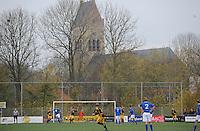 VOETBAL: BOLSWARD: 22-11-2014, SC Bolsward - VV Nijland, uitslag 0-3, ©foto Martin de Jong