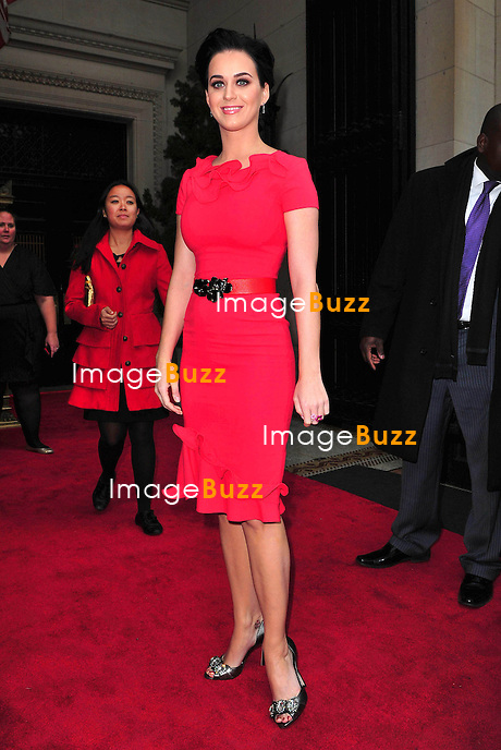 Katy Perry at the Billboard Women in Music Luncheon in New York City. November 30, 2012.