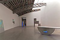 Mary Boone Gallery, Keith Sonnier light sculpture, 541 West 24 Street, Chelsea, Manhattan, New York City, New York, USA