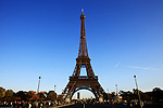France, Paris, October 30, 2011..General view of the Eiffel Tower in Paris October 30 , 2011. VIEWpress / Eduardo Munoz Alvarez..Paris is today one of the world's leading business and cultural centres, and its influences in politics, education, entertainment, media, fashion, science, and the arts all contribute to its status as one of the world's major global cities. Media Reported.