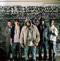 Wallstreet Entertainment. Wallstreet are a Hip-Hop group/record company that were created by Supreme (center). The group aim to have two or three nationally recognized rappers in the next five years.