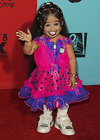 HOLLYWOOD, LOS ANGELES, CA, USA - OCTOBER 05: Jyoti Amge arrives at the Los Angeles Premiere Screening Of FX's 'American Horror Story: Freak Show' held at the TCL Chinese Theatre on October 5, 2014 in Hollywood, Los Angeles, California, United States. (Photo by Celebrity Monitor)