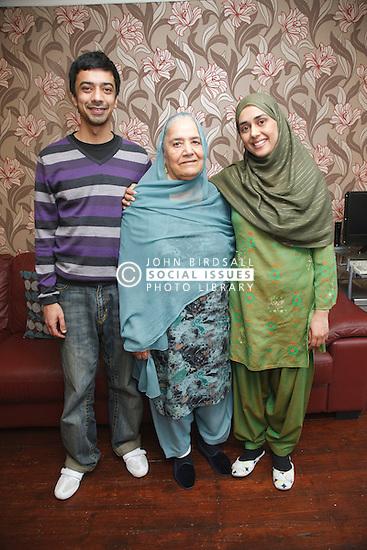 South Asian family portrait.
