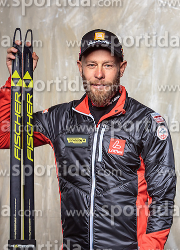 08.10.2016, Olympia Eisstadion, Innsbruck, AUT, OeSV Einkleidung Winterkollektion, Portraits 2016, im Bild Daniel Mesotitsch, Biathlon, Herren // during the Outfitting of the Ski Austria Winter Collection and official Portrait Photoshooting at the Olympia Eisstadion in Innsbruck, Austria on 2016/10/08. EXPA Pictures © 2016, PhotoCredit: EXPA/ JFK