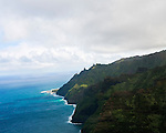 West coast of Kaua'i Hawaii near the Makalena Mountains.