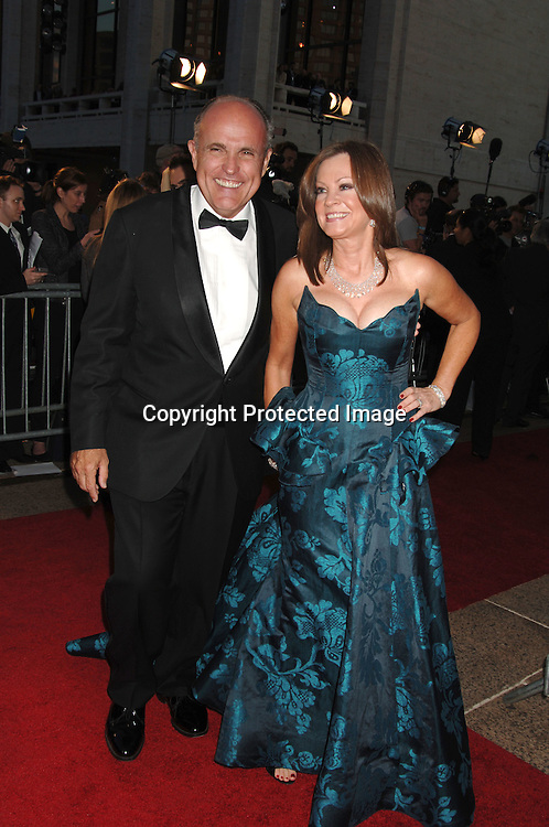 Rudy Guiliani and wife Judith Guiliani..arriving at The Opening of The Metropolitan Opera's 2006-2007 Season on September 25, 2006 in the Lincoln Center Plaza. ..Robin Platzer, Twin Images..