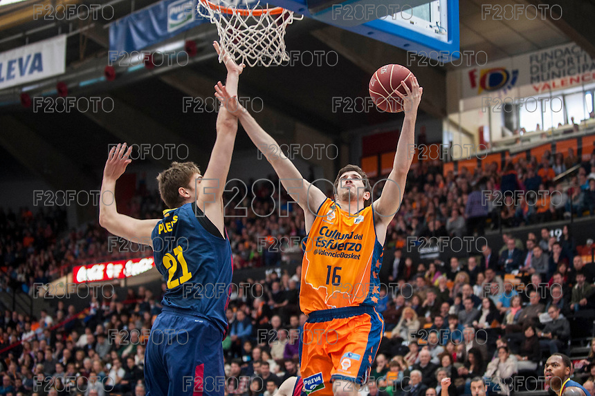 Valencia Basket 93-73 Barcelona (22-3-2015)