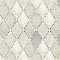 Name: Quilt<br /> Style: Contemporary<br /> Product Number: NRFQUILT<br /> Description: 24&quot;x 24&quot; Quilt in Carrara, Lettece Ming, Bardiglio (p)