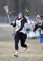 Girls Varsity Lacrosse vs. Carmel  3-21-13