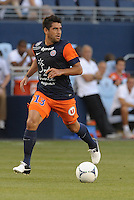 Marco Estrada (13) midfield Montpellier in action..Sporting Kansas City were defeated 3-0 by Montpellier HSC in an international friendly at LIVESTRONG Sporting Park, Kansas City, KS..