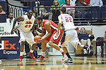 "Mississippi vs. Rutgers at the C.M. ""Tad"" Smith Coliseum in Oxford, Miss. on Saturday, December 1, 2012. (AP Photo/Oxford Eagle, Bruce Newman).."
