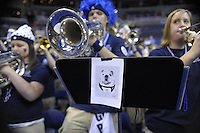The Bulldogs' band perform prior to tip-off  against Pitt during the 3rd round of the NCAA Tournament at the Verizon Center in Washington, D.C on Saturday, March 19, 2011. Alan P. Santos/DC Sports Box