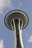 Space Needle (1962) Seattle Center, . Architect: John Graham & Assoc. Seattle, Washington, USA
